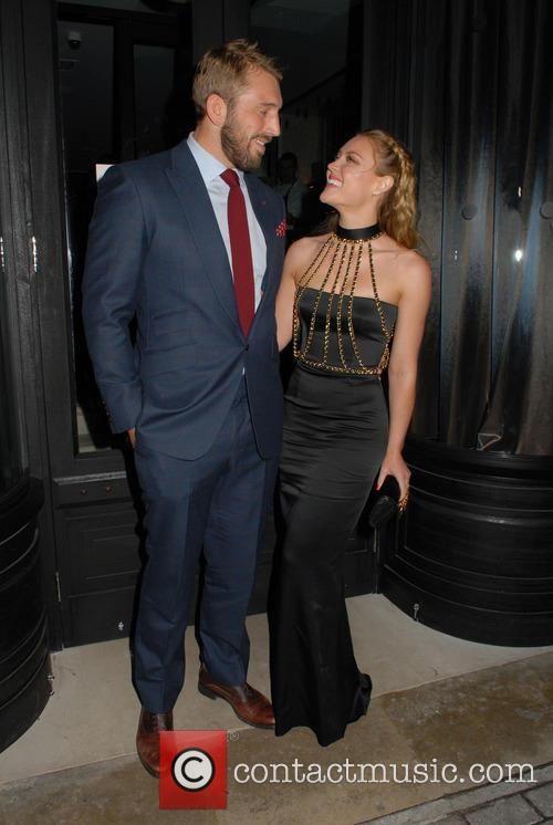 Chris Robshaw and Camilla Kerslake 6