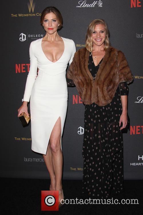 Tricia Helfer and Katee Sackhoff 7