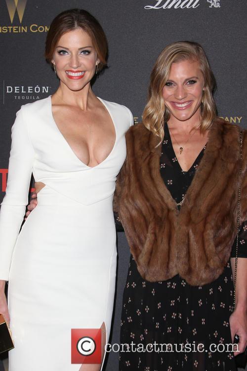 Tricia Helfer and Katee Sackhoff 10