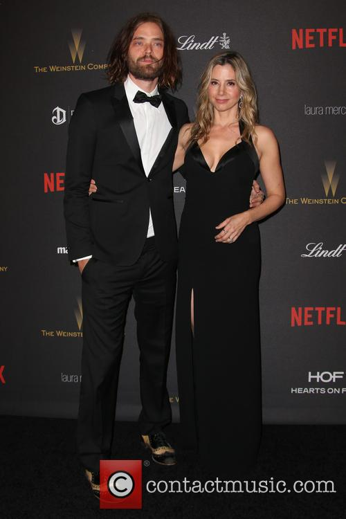 Christopher Backus and Mira Sorvino 1
