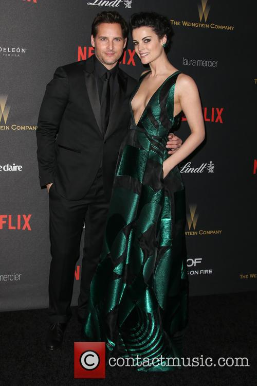 Jaimie Alexander and Peter Facinelli 1