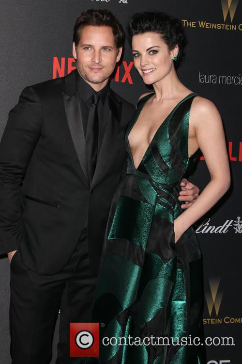 Jaimie Alexander and Peter Facinelli 2