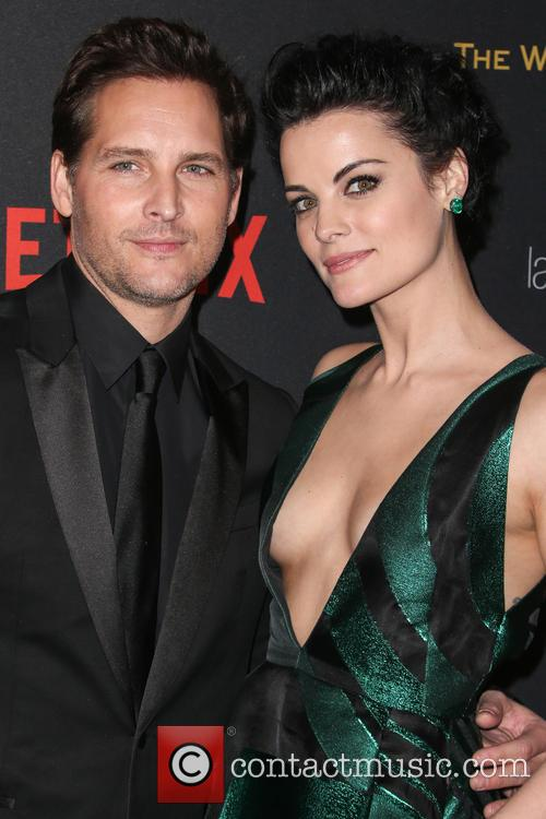 Jaimie Alexander and Peter Facinelli 4