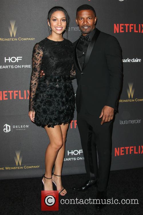 Corinne Bishop and Jamie Foxx 1