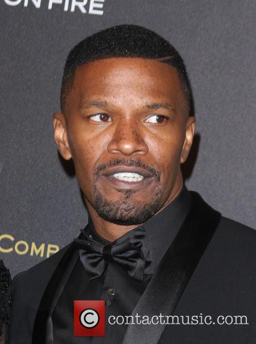 Jamie Foxx Saves A Man's Life By Pulling Him From Burning Car Wreck