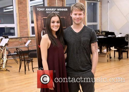 Cabaret, Andrea Goss and Randy Harrison 10