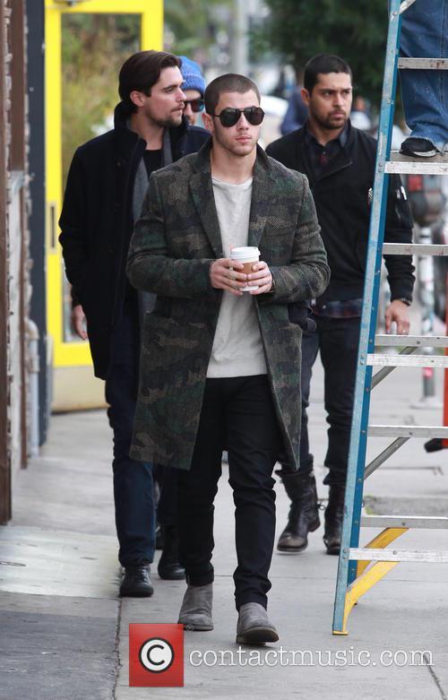 Nick Jonas, Joe Jonas and Wilmer Valderrama 6
