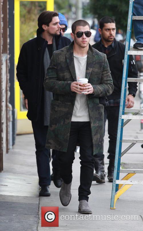Nick Jonas, Joe Jonas and Wilmer Valderrama 7