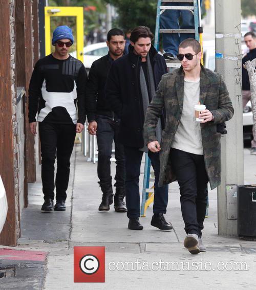 Nick Jonas, Joe Jonas and Wilmer Valderrama 9