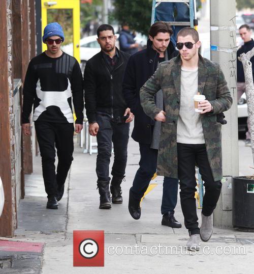 Nick Jonas, Joe Jonas and Wilmer Valderrama 10