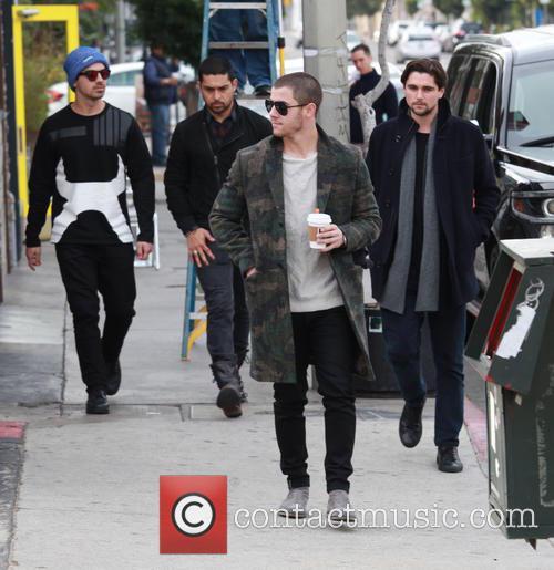 Nick Jonas, Joe Jonas and Wilmer Valderrama 11