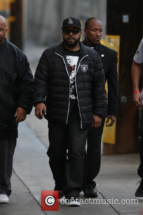 Ice Cube seen arriving at the ABC studios