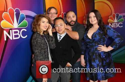 Nichole Bloom, Mark Mckinney, Nico Santos, Colton Dunn and Lauren Ash 3