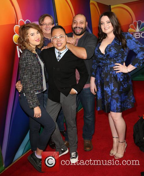 Nichole Bloom, Mark Mckinney, Nico Santos, Colton Dunn and Lauren Ash 4