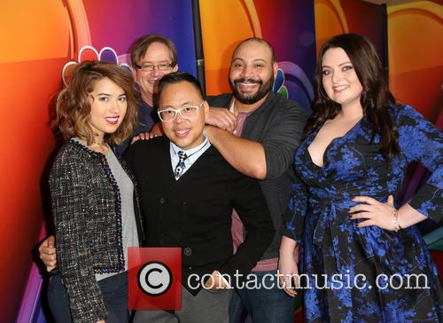 Nichole Bloom, Mark Mckinney, Nico Santos, Colton Dunn and Lauren Ash 5