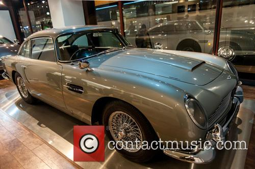 Aston Martin Db5, James Bond and Goldfinger