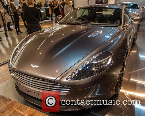 Aston Martin, Bond and Harrods 1