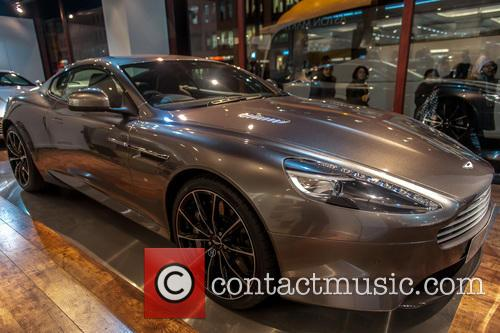 Aston Martin, Bond and Harrods 2