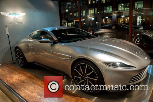 Aston Martin sports cars used in Bond movies...