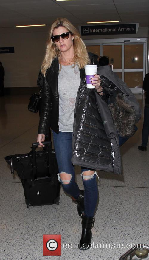 Erin Andrews at Los Angeles International Airport (LAX)