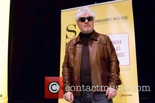 Pedro Almodovar gives a master class during the...
