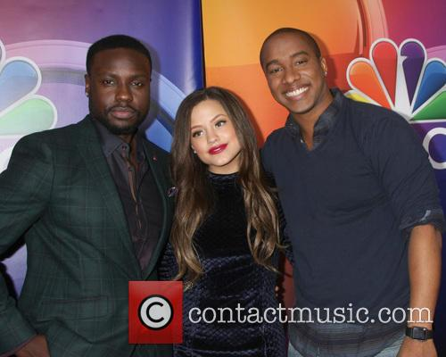 Dayo Okeniyi, Sarah Jeffery and Hampton Fluker 3