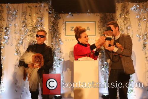 Simon Doonan, Toast, Cindy Adams and Finn Hearst 4