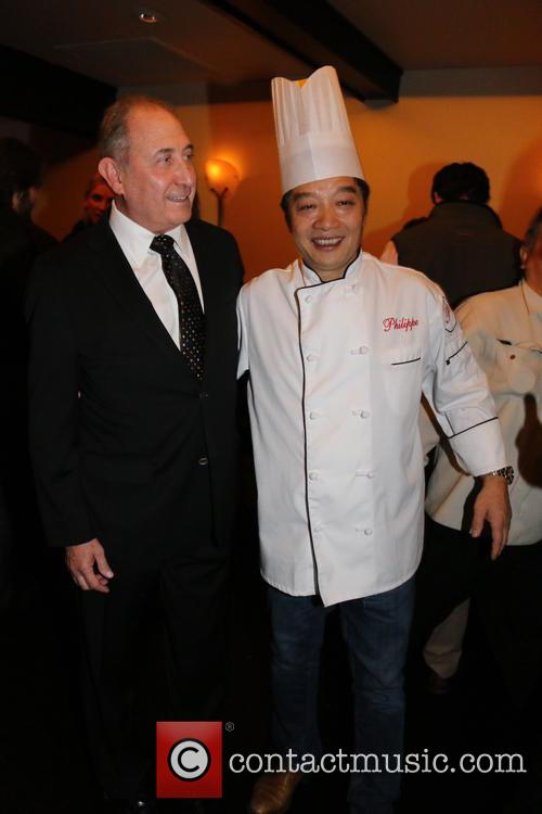 Steve Boxer and Chef Philippe Chow 3