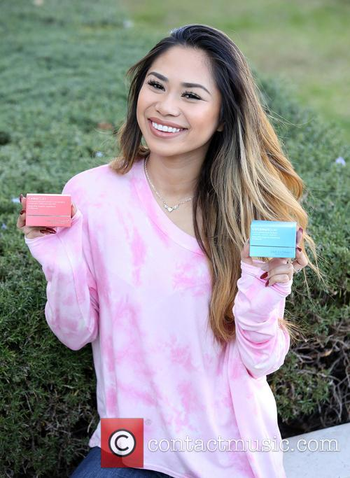 Jessica Sanchez attends Indulge House private gifting suite