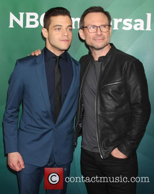 Rami Malek and Christian Slater 3