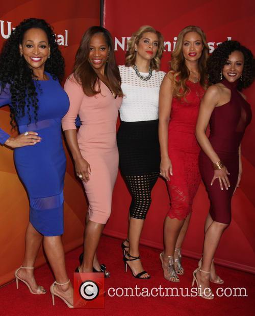 Real Housewives, Karen Huger, Charrisse Jackson Jordan, Gizelle Bryant, Ashley Derby and Robyn 1