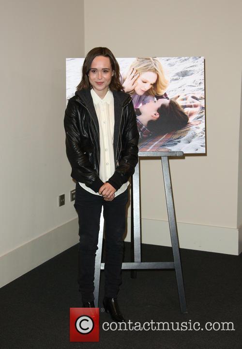 Ellen Page at the Berlin premiere