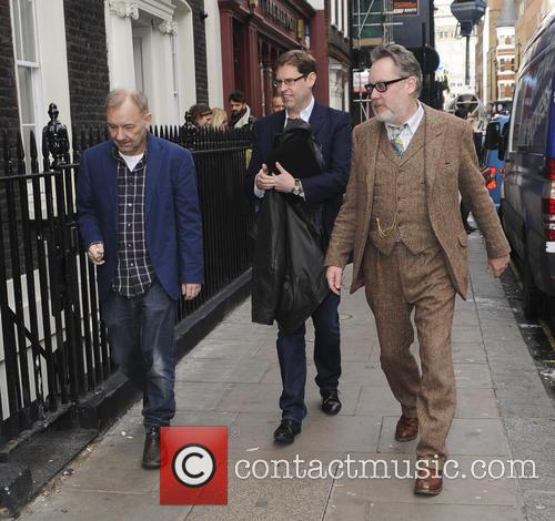 Vic Reeves and Bob Mortimer attend a photocall
