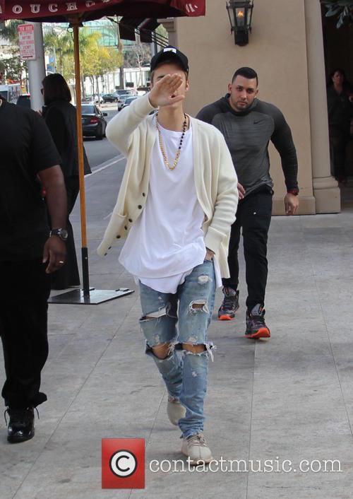 Justin Bieber and Corey Gamble 2