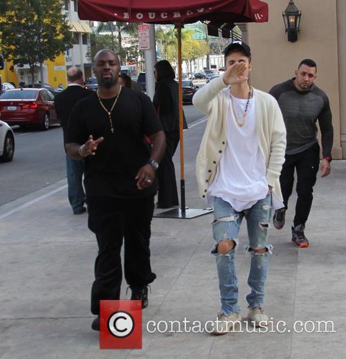 Justin Bieber and Corey Gamble 3