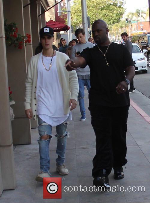 Justin Bieber and Corey Gamble 5
