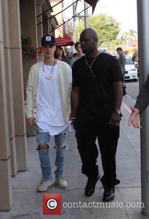 Justin Bieber and Corey Gamble 10