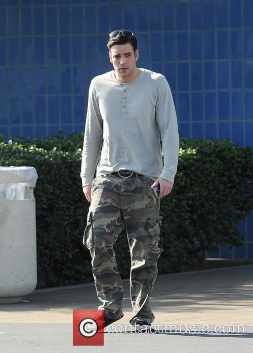 Mark Salling looking down and out after bank...