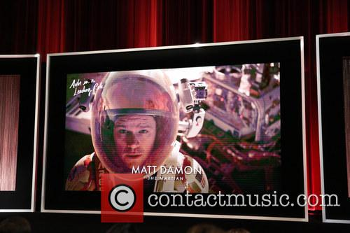 Actor In A Leading Role, Matt Damon and The Martian