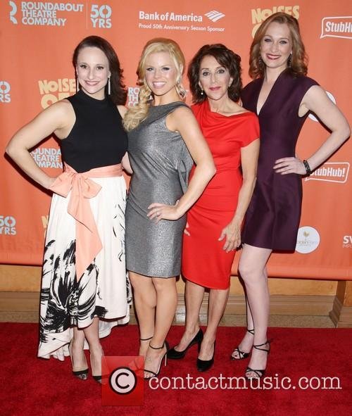 Tracee Chimo, Megan Hilty, Andrea Martin and Kate Jennings Grant 3