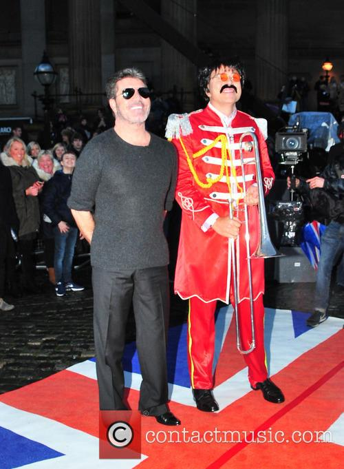Simon Cowell and David Walliams 7