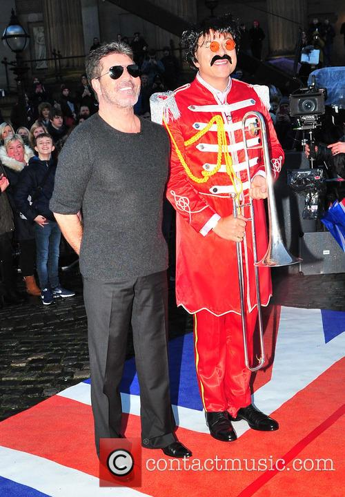 Simon Cowell and David Walliams 8