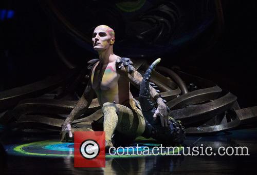 Cirque Du Soleil's 'Amaluna' dress rehearsal at the...