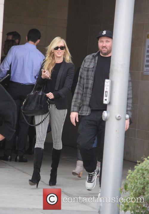 Kimberly Stewart spotted out to lunch with a...