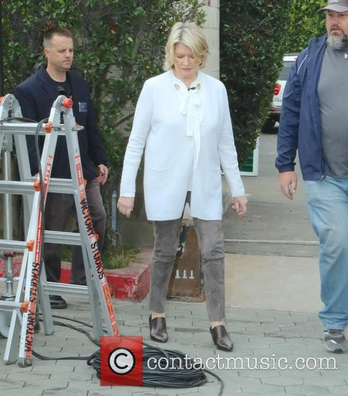 Martha Stewart at Universal Studios Hollywood for an...