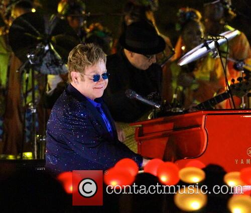 Sir Elton John Working On Lady Gaga's New Album