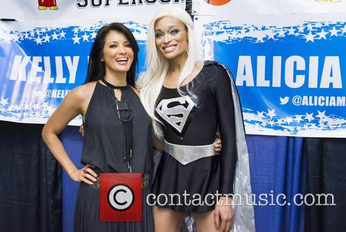Kelly Hu and Alicia Marie 5