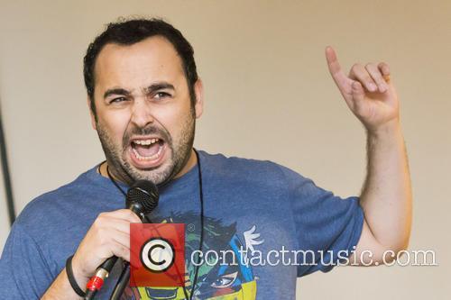 Comedian David Del Rosario 1