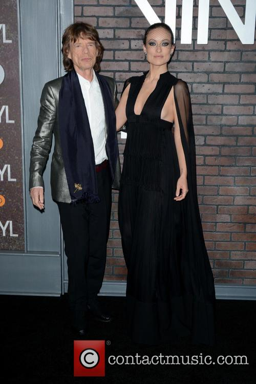 Mick Jagger and Olivia Wilde 5