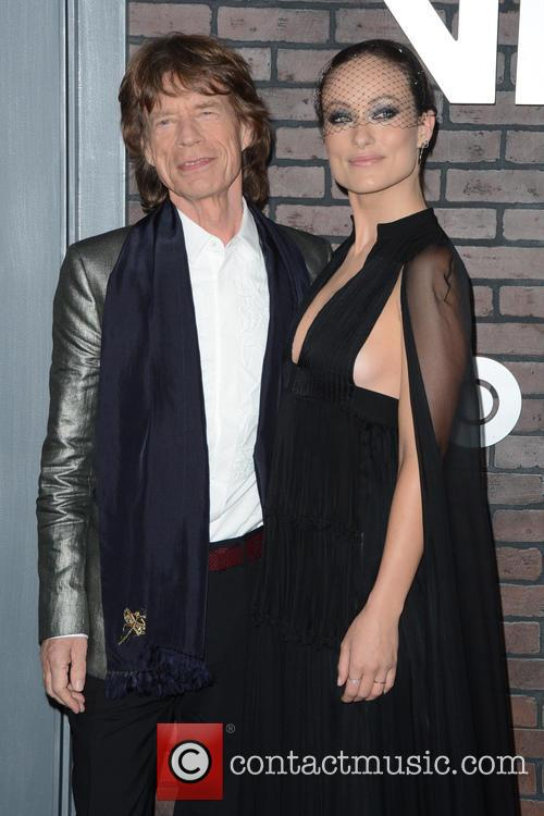 Mick Jagger and Olivia Wilde 8